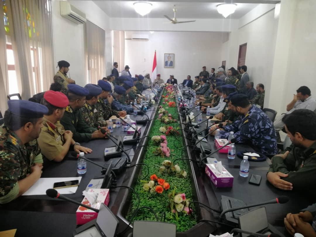 الميسري يشدد على اهمية تفعيل قنوات التنسيق والتعاون لجاهزية القوات المسلحة والامن