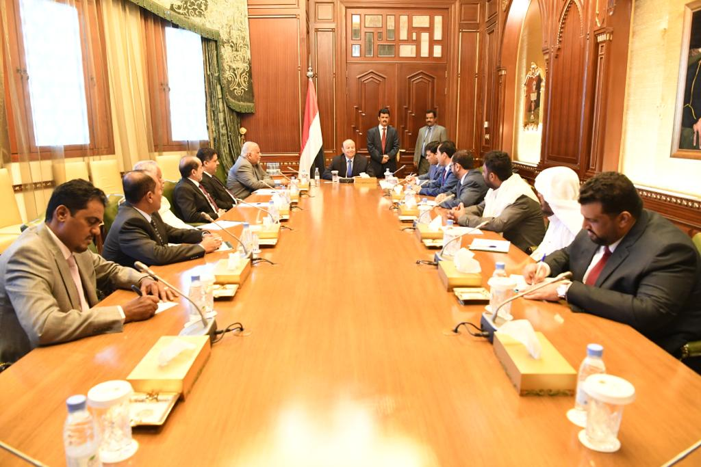 رئيس الجمهورية يؤكد على اهمية القضية الجنوبية باعتبارها جوهر السلام والاستقرار في اليمن
