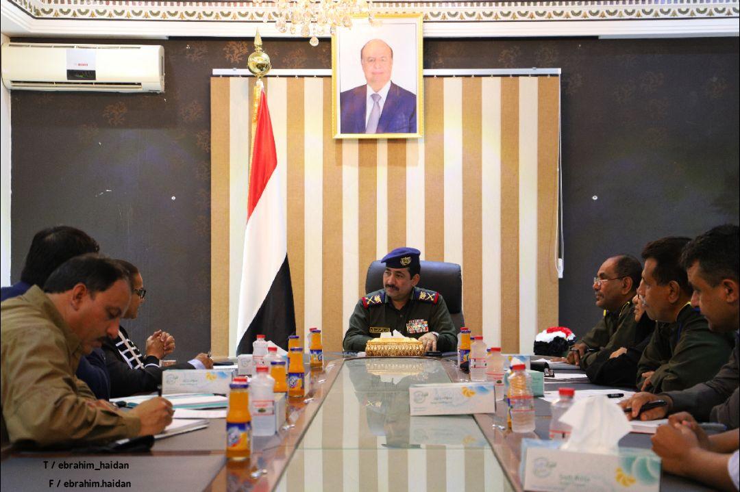 بحث إمكانية دعم قطاعات وزارة الداخلية من قبل برنامج الأمم المتحدة الانمائي