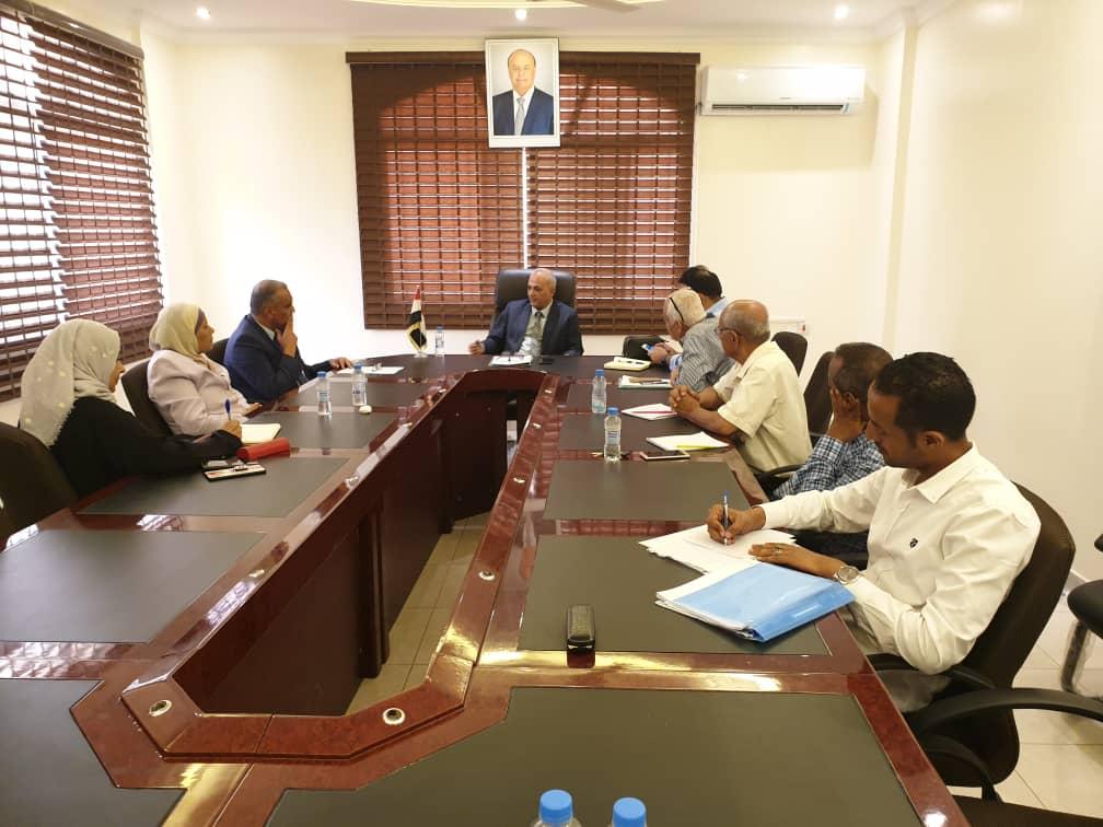 وزير المياه يؤكد ضرورة تفعيل المراكز العلمية وتأهيل فنيي الجامعات للمساهمة بالتنمية المستدامة