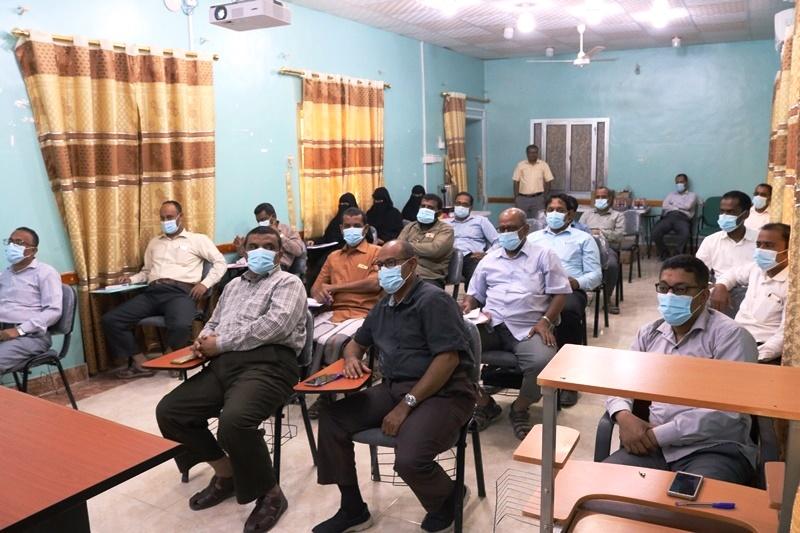 اختتام الدورة التدريبية للاطباء بحضرموت حول السياسية العلاجية للملاريا