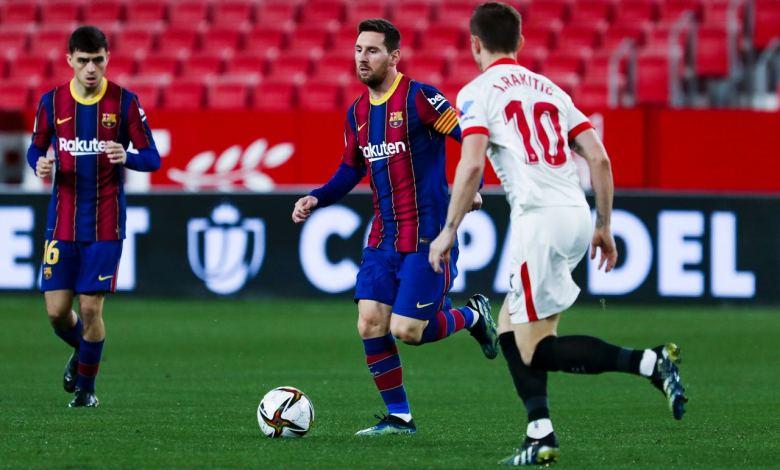 اشبيلية يحقق فوزاً ثميناً على برشلونة ويضع قدماً في نهائي كأس إسبانيا