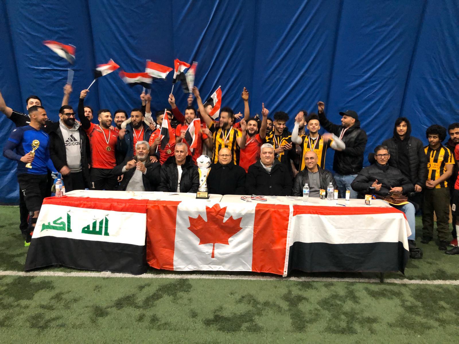 Photo of الجالية اليمنية في كندا تنظم دوري البطولة العربية-الكندية لكرة القدم